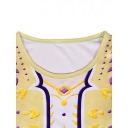 Size is (4Y-5Y)/S Girls Queen Anna Dress Frozen 2 Costumes Kids Yellow