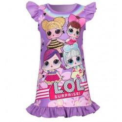 Girl Lol Doll Summer Dresses For Kids  Pajamas Pink