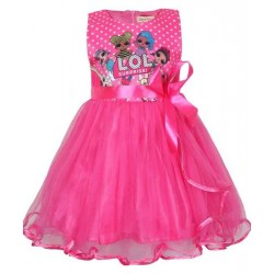 Lol Surprise Doll Tutu Bow Front Dress Birthday Outfit Kids