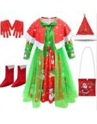 Girls' Christmas Santa Costumes